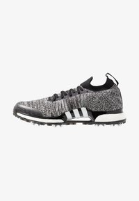 adidas Golf - TOUR360 XT PRIMEKNIT - Golf shoes - core black/footwear white/silver metallic - 0