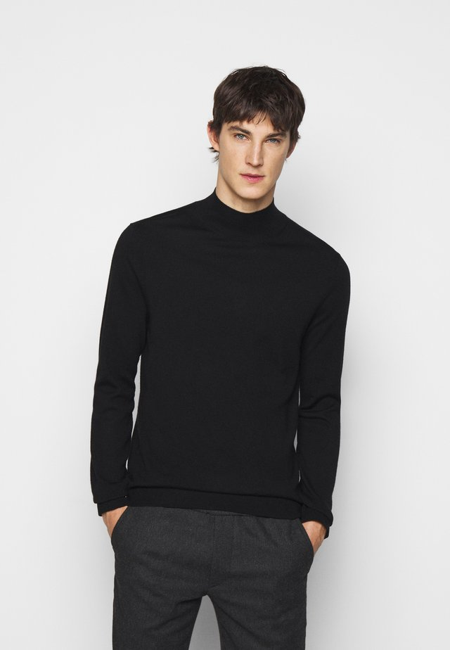 RESPONSIBLE MOCK - Maglione - black