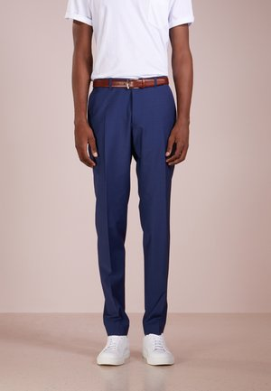 FOOT - Suit trousers - blau