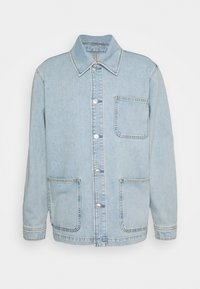 WORKER WASHED - Denim jacket - blue vintage denim