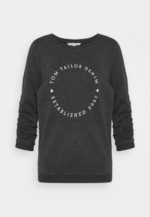 LOGO PRINT - Sweatshirt - shale grey melange