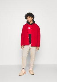 Nike Sportswear - AIR HOODIE - Hoodie - university red/black/white - 1