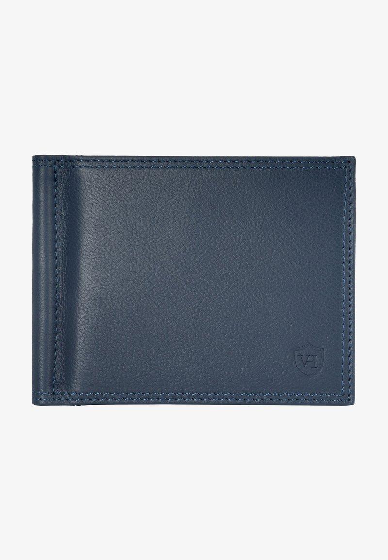 VON HEESEN - Wallet - blau (genarbt)