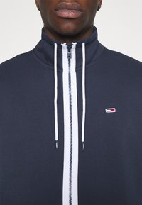 Tommy Jeans - SOLID TRACK JACKET - Zip-up hoodie - blue - 4