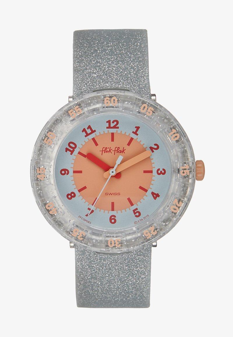 Flik Flak - GLITTERAXUS - Watch - silver-coloured