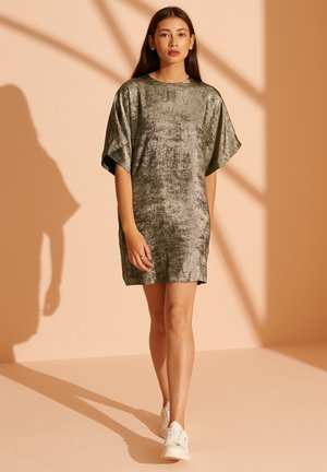CULT STUDIOS ROCKER  - Cocktail dress / Party dress - distressed gold