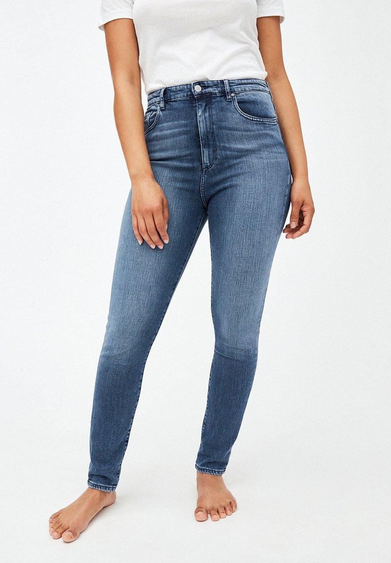 ARMEDANGELS - INGAA - Jeans Skinny Fit - stone wash