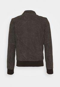 Schott - KANSAS  - Leather jacket - taupe - 1
