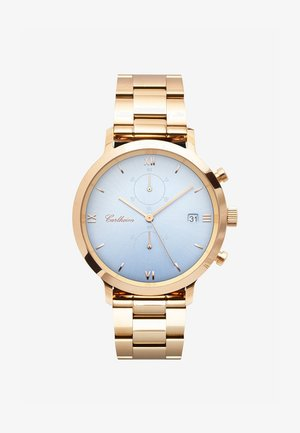 ADLER 42MM - Chronograph watch - rose gold-blue