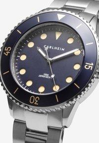 Carlheim - DIVER 40MM LINK - Montre - silver-blue - 2