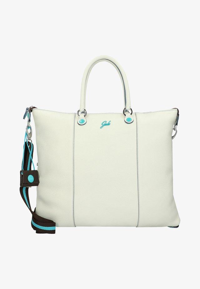 PLUS FLAT  - Tote bag - milk