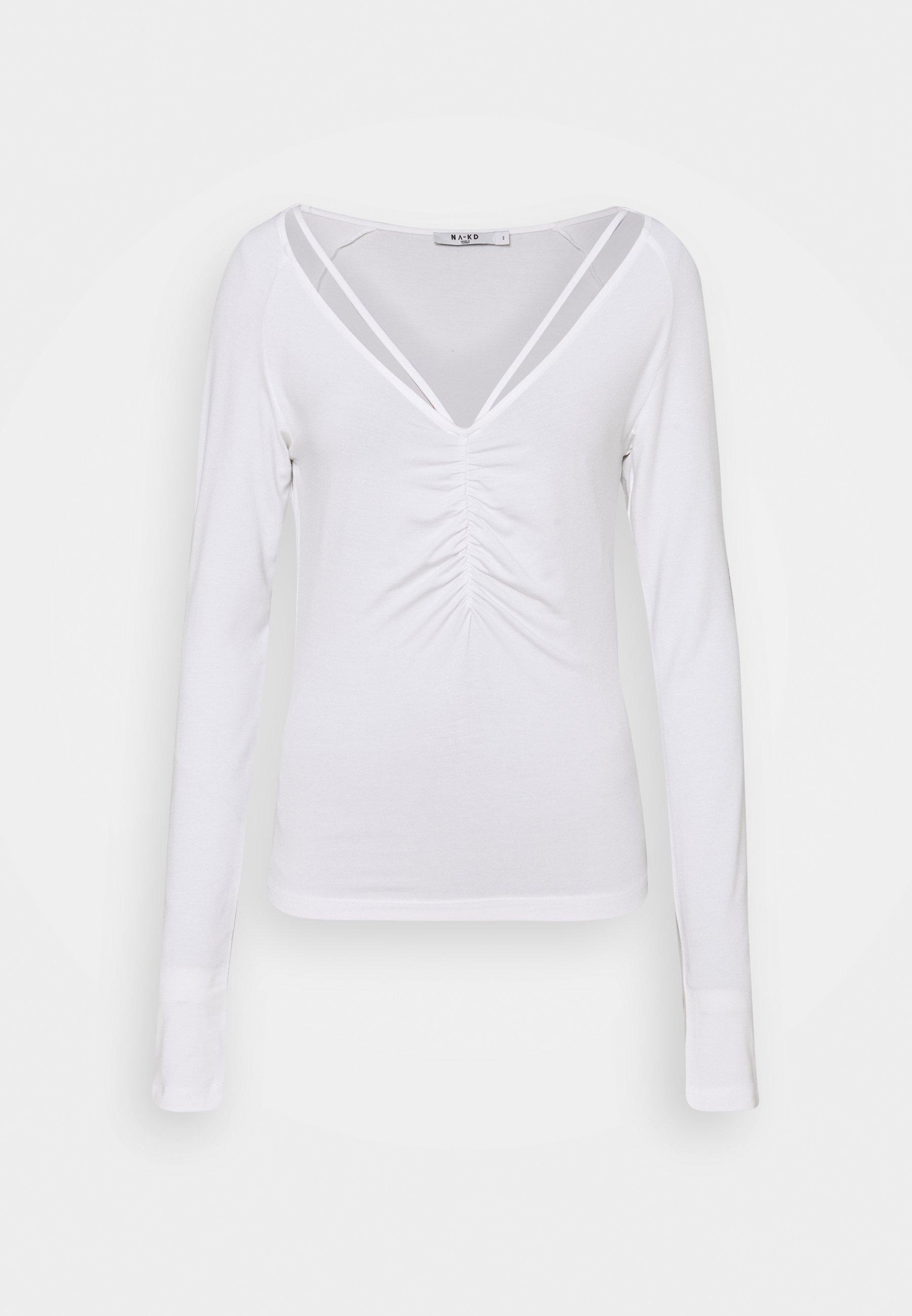 Donna NECK DETAIL - Maglietta a manica lunga