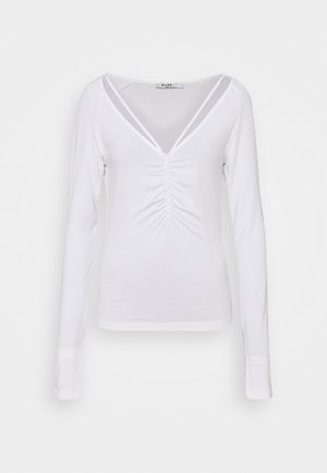 NECK DETAIL - Long sleeved top - off white