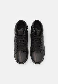 Lumberjack - JOELE - Sneakers alte - black - 3