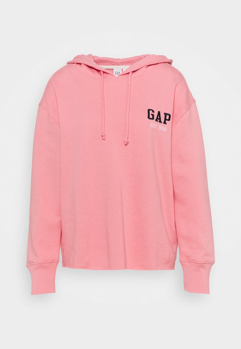 GAP - CHEST HIT - Bluza z kapturem - promenade pink