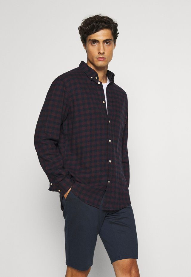 SLHSLIMFLANNEL SHIRT - Hemd - port royale