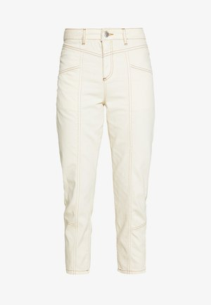MOM HIGH WAIST - Relaxed fit jeans - white