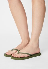 Even&Odd - 2 PACK - Pool shoes - khaki/pink - 0