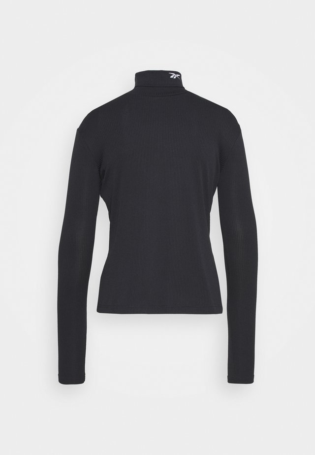 TURTLE NECK - T-shirt à manches longues - black