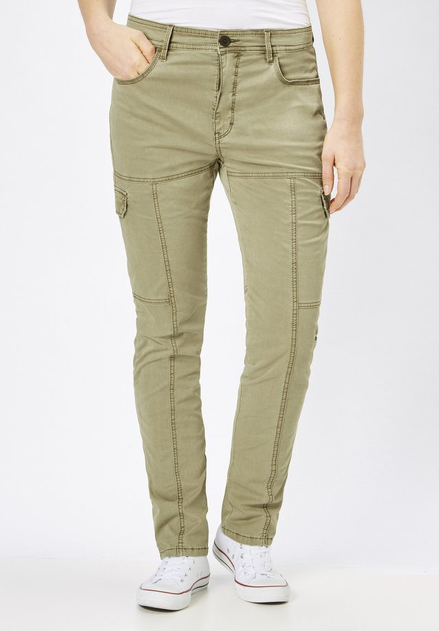 PINA - Cargo trousers - capulet olive
