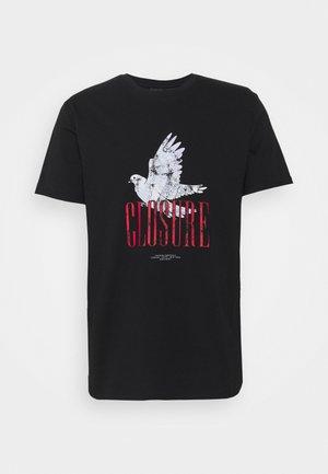 PAX TEE - T-shirt print - black