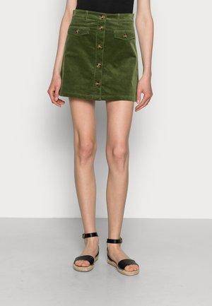 CAROLL SKIRT - Minirok - olive green