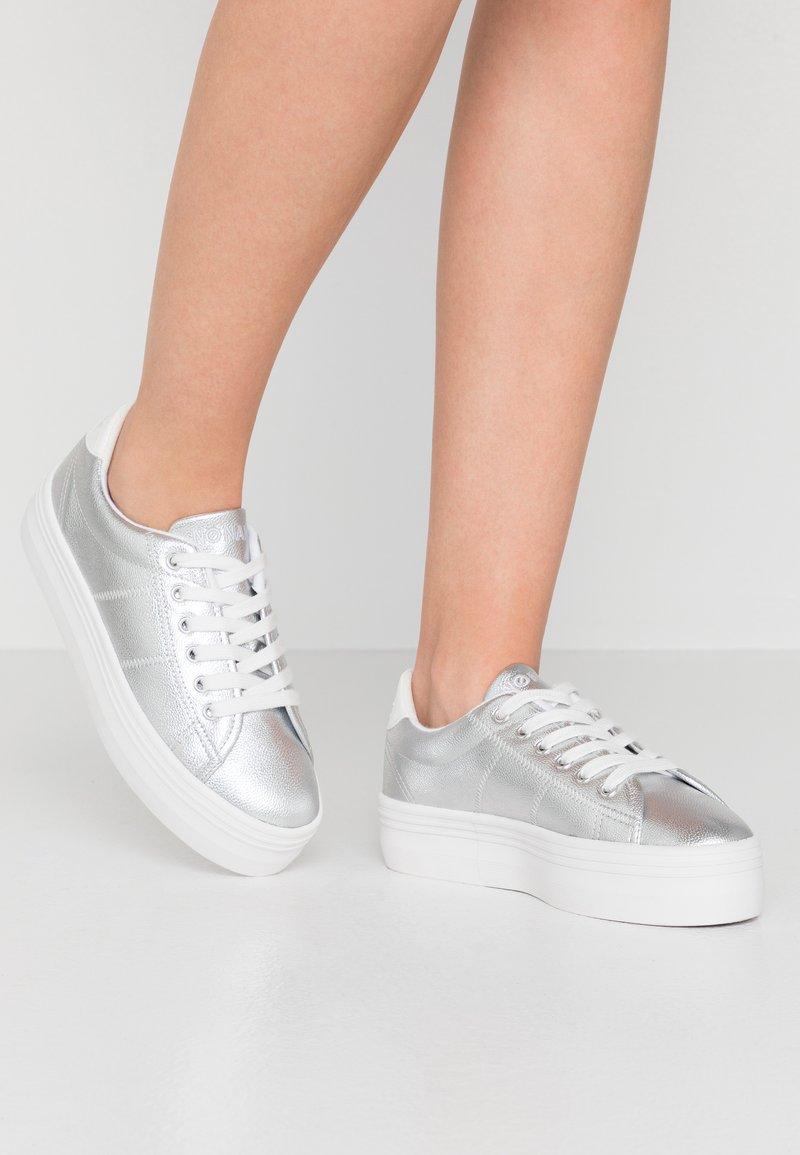 No Name - PLATO - Trainers - white/silver