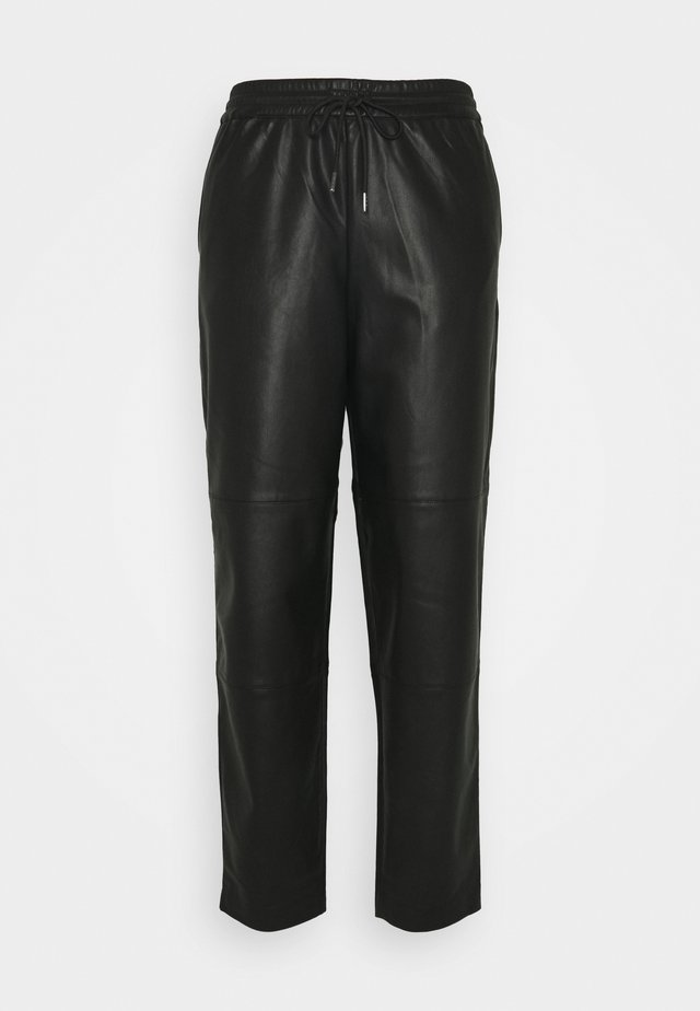 SIRASI VEGAN TROUSERS - Trousers - black