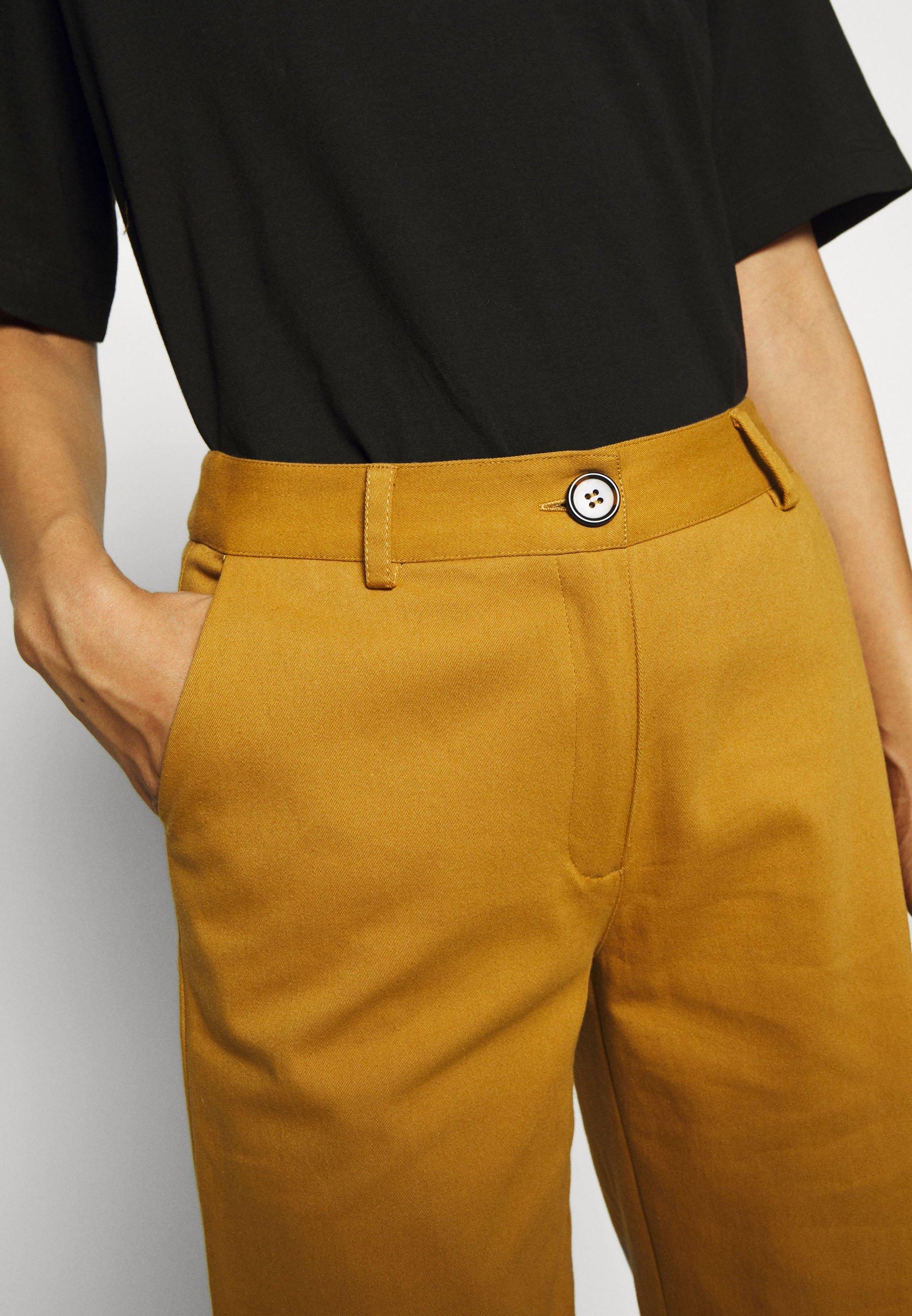 Another-Label AUDREY PANTS - Pantalones - golden brown qWRhN