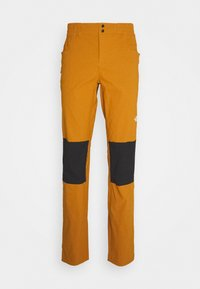 The North Face - MEN'S CLIMB PANT - Stoffhose - timbertan/black