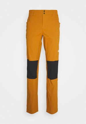 MEN'S CLIMB PANT - Trousers - timbertan/black