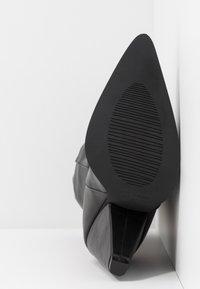 RAID - PLEXI - Laarzen met hoge hak - black - 6
