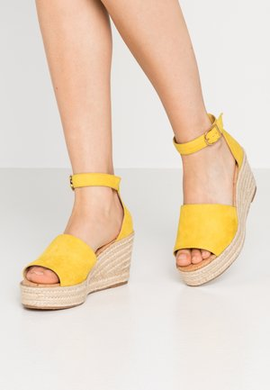 LIBERTII - High heeled sandals - bright yellow