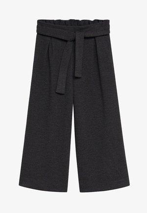NŒUD - Trousers - gris chiné foncé