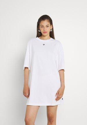 OVERSIZED TEE DRESS - Robe en jersey - white