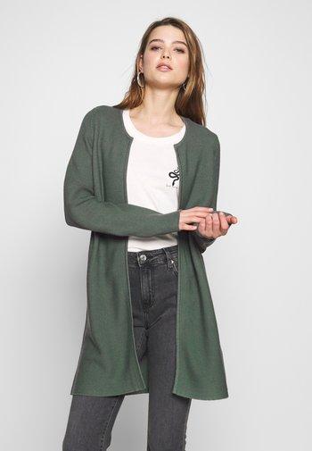 ONLCLARA CARDIGAN - Cardigan - balsam green