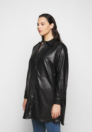VIMA SHIRT - Button-down blouse - black