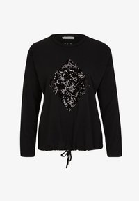 comma casual identity - Long sleeved top - black sequins - 5