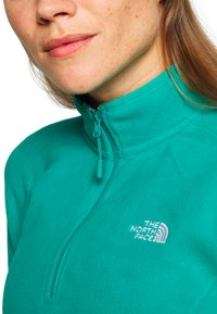 The North Face - WOMEN'S GLACIER 1/4 ZIP - Fleece jumper - jaiden green - 5
