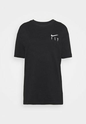 BOY TEE - T-shirt z nadrukiem - black