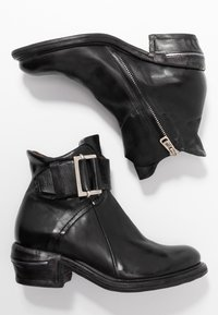A.S.98 - Cowboy/biker ankle boot - nero - 3