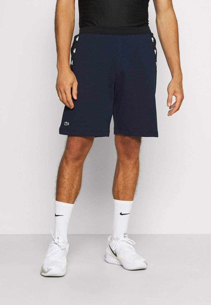 Lacoste Sport - SHORT - Sports shorts - navy blue/black