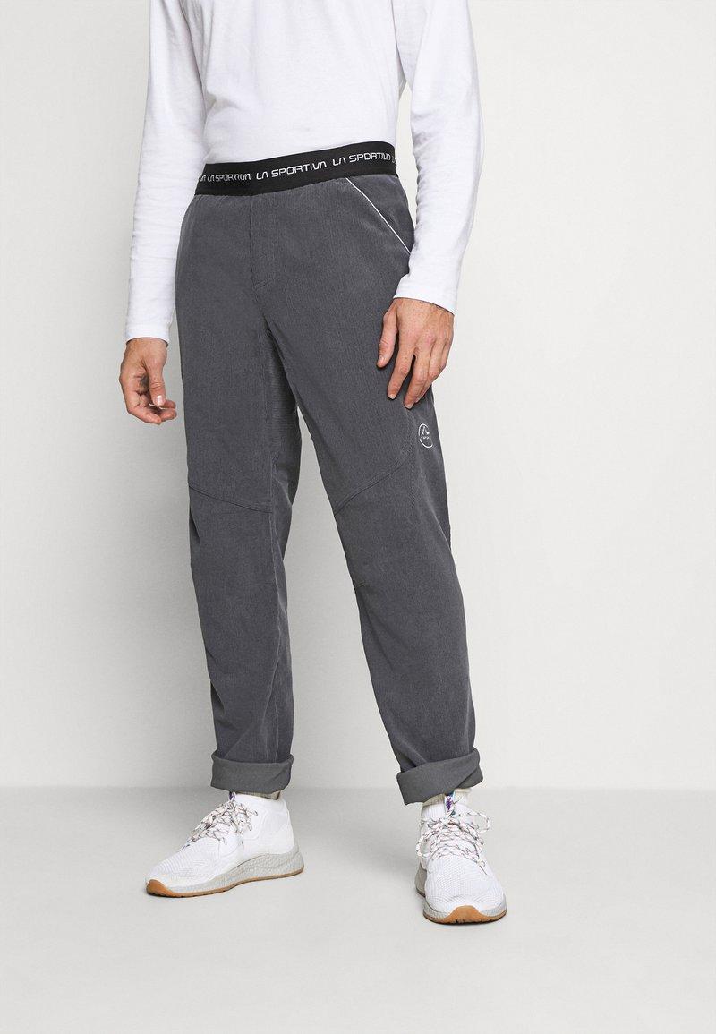 La Sportiva - SOLO PANT - Kalhoty - carbon
