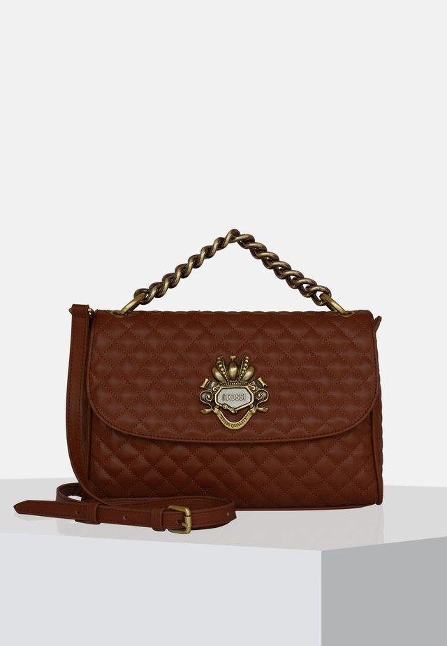 Handbag - dark whiskey