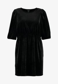 Monki - TIBBY DRESS - Robe d'été - black dark - 4