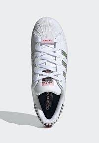 adidas Originals - SUPERSTAR W - Baskets basses - ftwwht/trupnk/cblack - 1