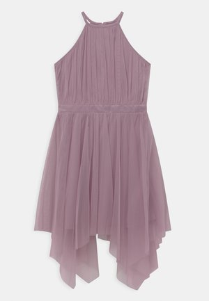 HIGH NECK HANKY HEM - Cocktail dress / Party dress - lilac