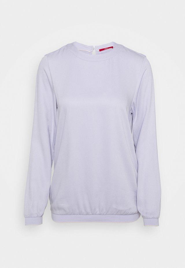 Long sleeved top - purple haz