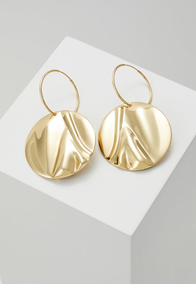 EARRINGS WATER - Orecchini - gold-coloured
