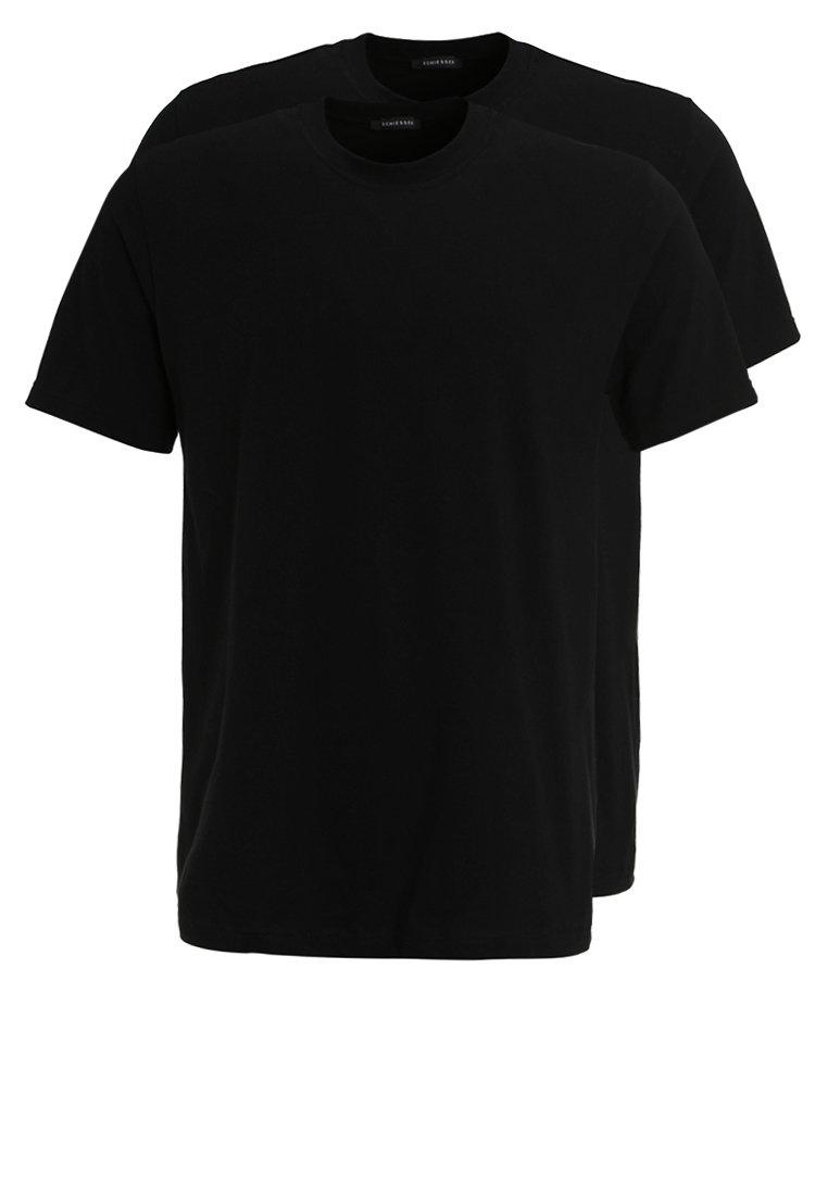 Schiesser - AMERICAN 2PACK - Camiseta interior -  black